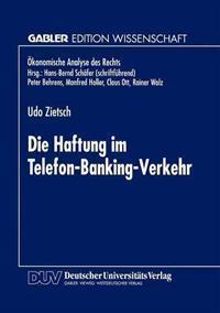 Die Haftung im Telefon-Banking-Verkehr