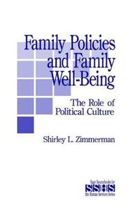 Family Policies and Family Well-Being
