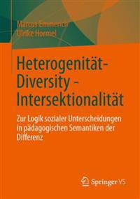 Heterogenitat - Diversity - Intersektionalitat
