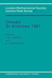 Groups - St. Andrews, 1981