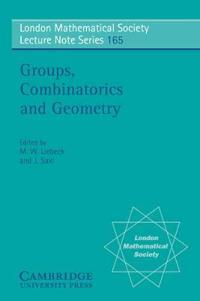 Groups, Combinatorics & Geometry, Durham, 1990