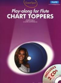 Guest spot - chart toppers - play-along for flute