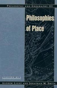 Philosophy and Geography III