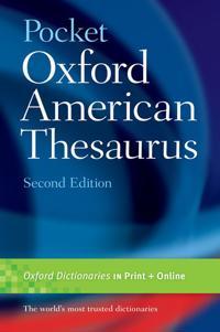 Oxford American Thesaurus
