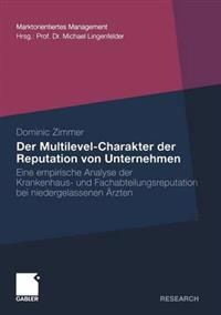 Der Multilevel-charakter der Reputation von unternehmen