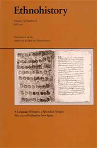 A Language of Empire, a Quotidian Tongue