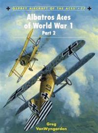 Albatros Aces of World War 1