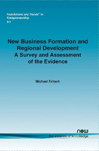 New Business Formation and Regional Development
