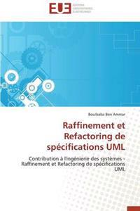Raffinement Et Refactoring de Sp�cifications UML