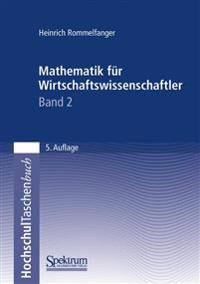 Mathematik Fur Wirtschaftswissenschaftler II