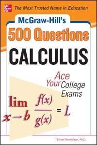 McGraw-Hill's 500 Calculus Questions