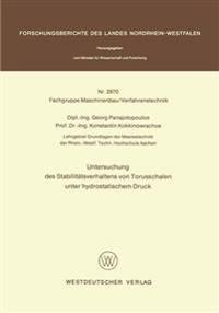 Untersuchung Des Stabilitätsverhaltens Von Torusschalen Unter Hydrostatischem Druck