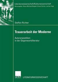 Trauerarbeit Der Moderne
