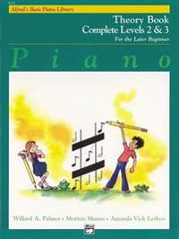Alfred's Basic Piano Course Theory: Complete 2 & 3