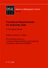 Functional Requirements Of Authority Data