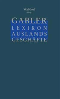 Gabler Lexikon Auslands Geschafte