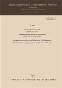 Energiepreisentwicklung Und Allgemeine Preisbewegung