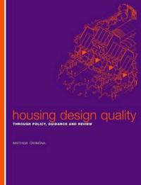 Housing Design Quality