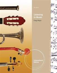 Listening to Music, International Edition (with Introduction to Listening CD)