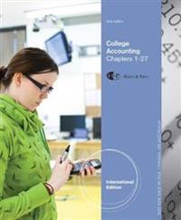 College Accounting, Chapters 1-27, International Edition