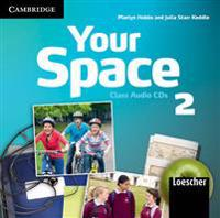 Your Space Level 2 Class Audio CDs (2) Italian Edition