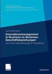 Innovationsmanagement in Business-to-Business-geschaftsbeziehungen