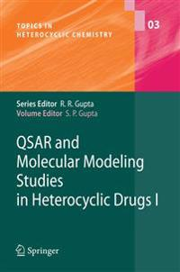 QSAR and Molecular Modeling Studies in Heterocyclic Drugs I