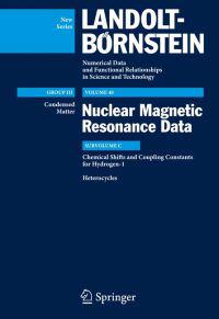 Chemical Shifts and Coupling Constants for Hydrogen-1