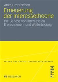 Erneuerung Der Interessetheorie