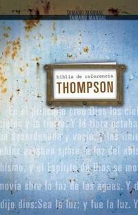 RVR60 Biblia De Referencia Thompson Tamano Personal/ RVR 60 Thompson Reference Bible Personal Size
