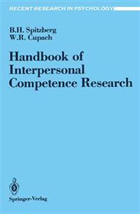 Handbook of Interpersonal Competence Research