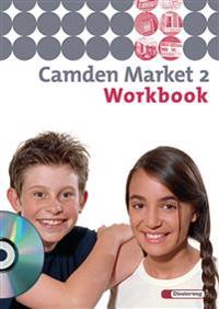 Camden Market 2. Workbook mit Multimedia-Sprachtrainer CD-ROM. 6. Schuljahr. Berlin, Brandenburg