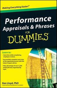 Performance Appraisals & Phrases for Dummies