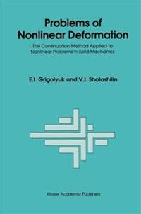 Problems of Nonlinear Deformation