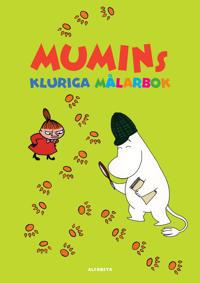 Mumins kluriga målarbok
