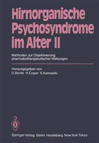 Hirnorganische Psychosyndrome im Alter