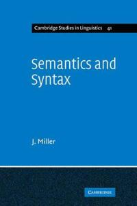 Semantics and Syntax