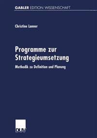 Programme Zur Strategieumsetzung