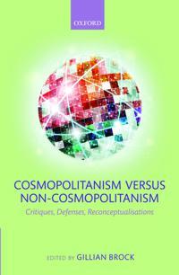 Cosmopolitanism Versus Non-Cosmopolitanism