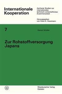 Zur Rohstoffversorgung Japans