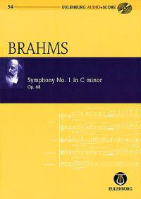 Symphony No. 1 in C Minor, Op. 68: Eulenburg Audio+score Series, Vol. 54 Study Score/CD Pack