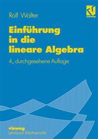 Einfuhrung in Die Lineare Algebra