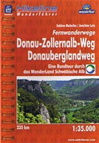 Donauberglandweg Donau-Zollernalb-Weg Fernwanderweg