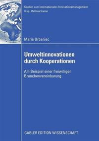 Umweltinnovationen Durch Kooperationen