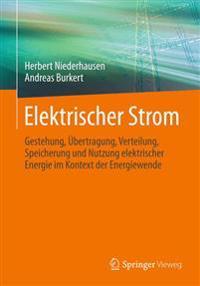Elektrischer Strom: Gestehung, Ubertragung, Verteilung, Speicherung Und Nutzung Elektrischer Energie Im Kontext Der Energiewende