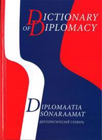 English-Estonian-Russian Dictionary Of Diplomacy.