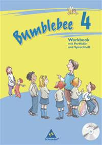 Bumblebee 4. Workbook plus Portfolio- / Sprachheft und Pupil's Audio-CD
