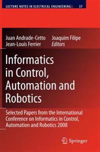 Informatics in Control, Automation and Robotics