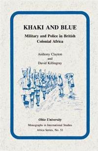 Khaki and Blue