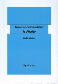 Lessons on Finnish Grammar in Finnish  (4 p.)